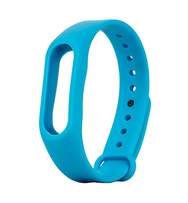 Aксессуар Ремешок Apres for Xiaomi Mi Band 2 Silicone Blue