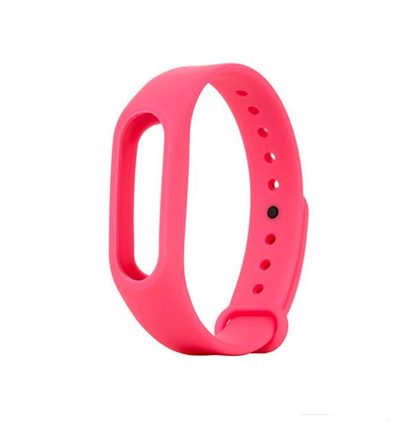 Aксессуар Ремешок Apres for Xiaomi Mi Band 2 Silicone Pink цены