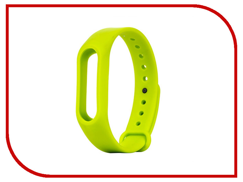 Aксессуар Ремешок Apres for Xiaomi Mi Band 2 Green aксессуар ремешок apres mijobs leather strap for xiaomi mi band 2 red