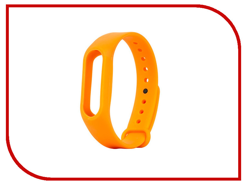 Aксессуар Ремешок Apres for Xiaomi Mi Band 2 Orange aксессуар ремешок apres mijobs leather strap for xiaomi mi band 2 red
