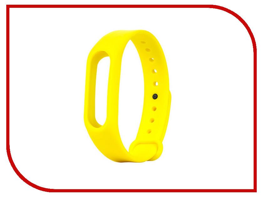Aксессуар Ремешок Apres for Xiaomi Mi Band 2 Yellow