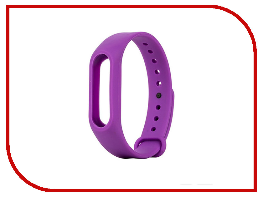 Aксессуар Ремешок Apres for Xiaomi Mi Band 2 Purple