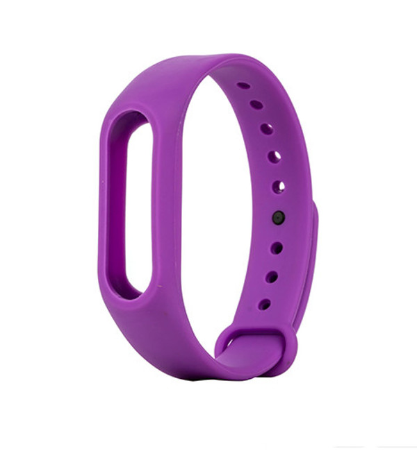 Aксессуар Ремешок Apres for Xiaomi Mi Band 2 Silicone Purple