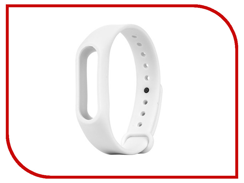 Aксессуар Ремешок Apres for Xiaomi Mi Band 2 White