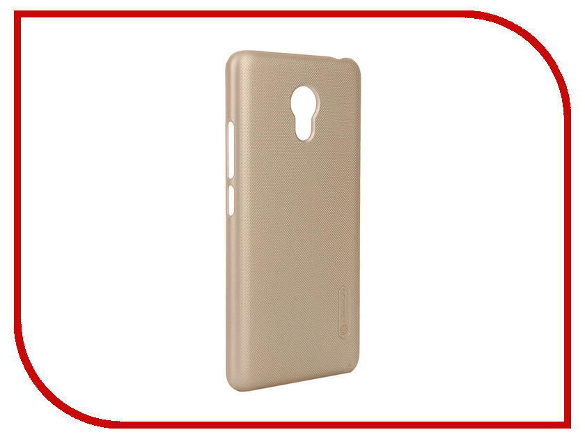 Аксессуар Чехол Meizu M3 mini Nillkin Frosted Shield Gold<br>