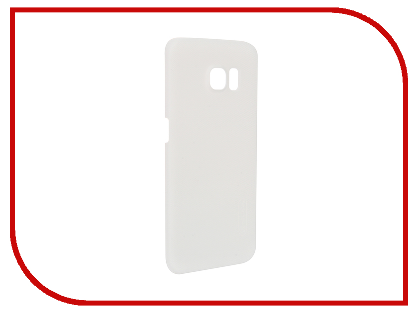 Аксессуар Чехол Samsung Galaxy S6 Edge G925F Nillkin Frosted Shield White<br>