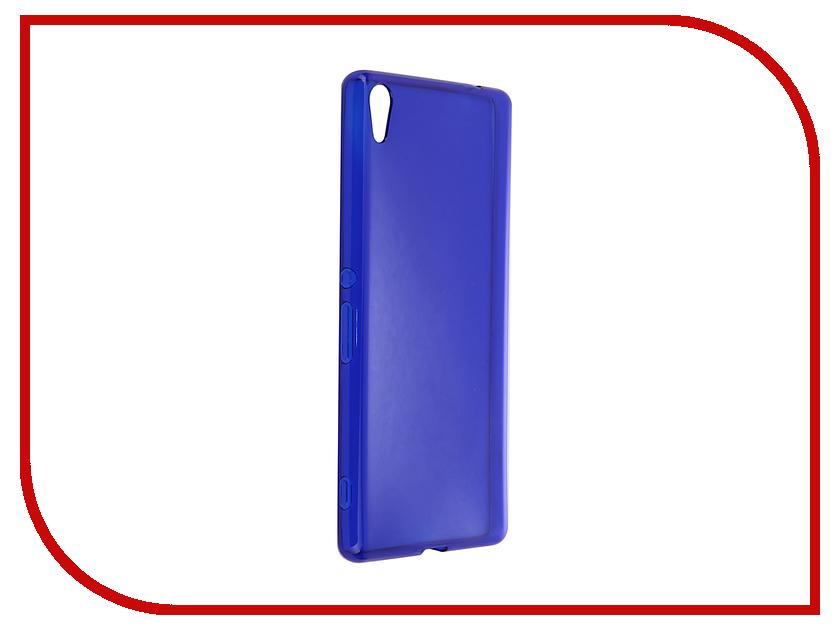 Аксессуар Чехол-накладка Sony Xperia XA Ultra Gecko силиконовый Transparent Blue S-G-SONXAU-DBLU<br>