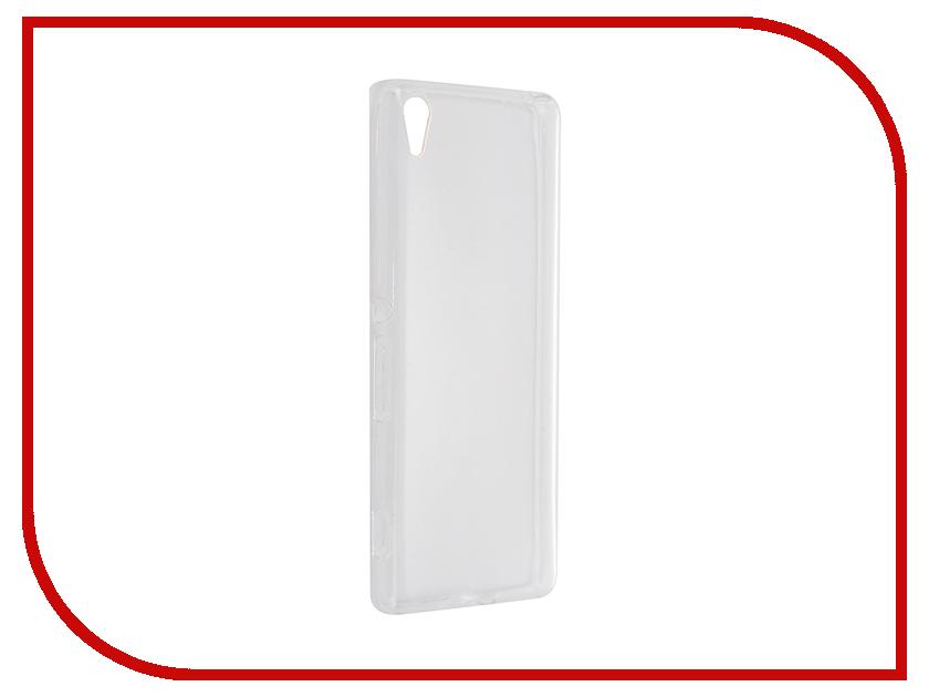 Аксессуар Чехол-накладка Sony Xperia XA Gecko силиконовый Transparent White S-G-SONXA-WH<br>