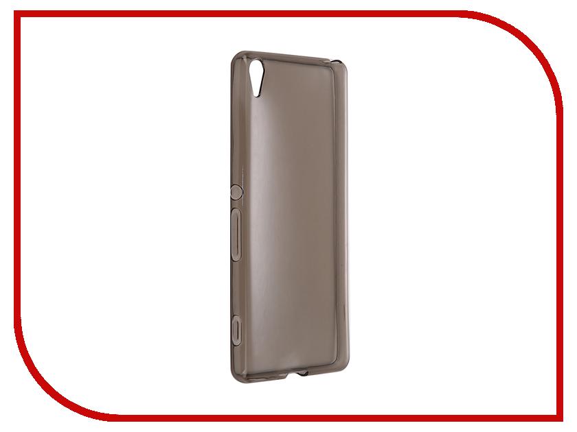 Аксессуар Чехол-накладка Sony Xperia XA Gecko силиконовый Transparent Grey S-G-SONXA-BL<br>