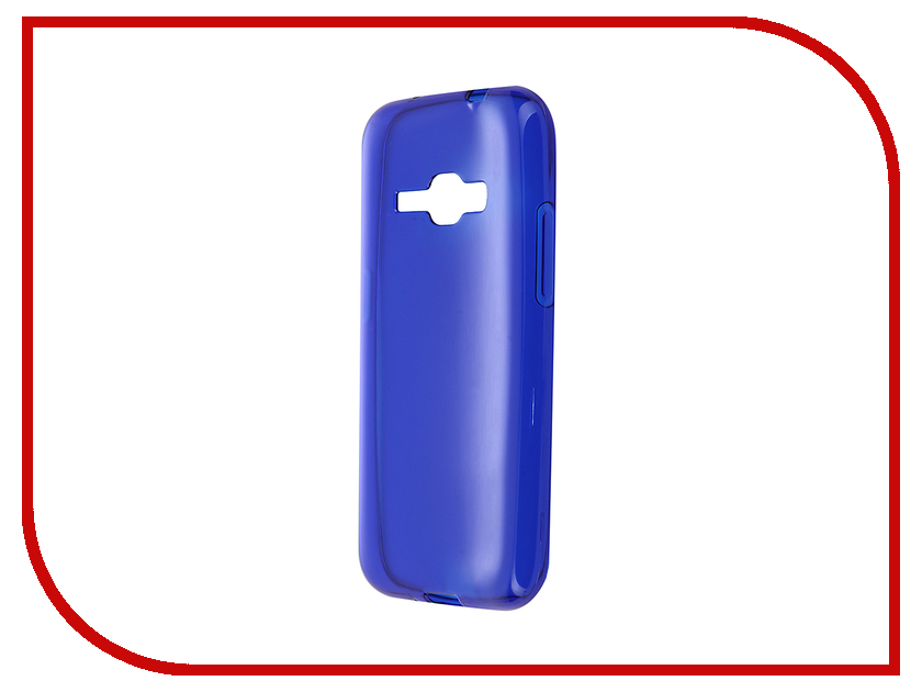 Аксессуар Чехол-накладка Gecko for Samsung Galaxy J1 J120F 2016 силиконовый Transparent Blue S-G-SGJ1-2016-DBLU