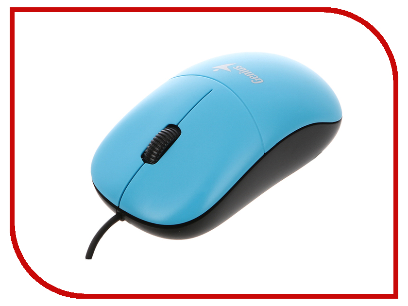 Мышь проводная Genius DX-135 Blue USB<br>