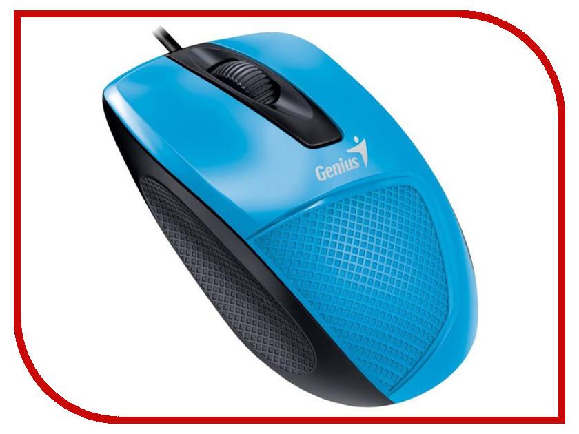 Мышь проводная Genius DX-150X Blue-Black USB