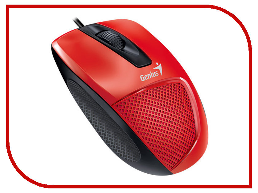 Мышь Genius DX-150X Red-Black USB genius dx 150x