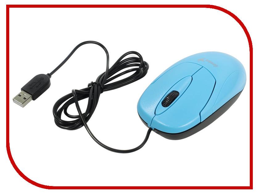 Мышь проводная Genius XScroll V3 Blue USB<br>