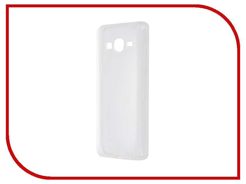 Аксессуар Чехол-накладка Gecko for Samsung Galaxy J3 J320 2016 силиконовый Transparent White S-G-SGJ3-2016-WH weide wh 2316 men s quartz