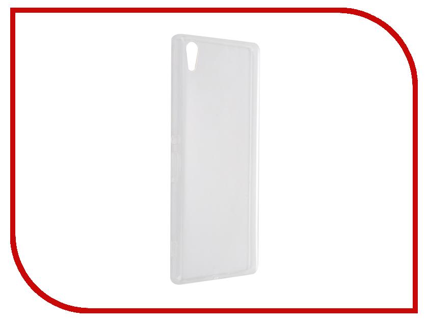 Аксессуар Чехол-накладка Sony Xperia XA Ultra Gecko силиконовый Transparent White S-G-SONXAU-WH<br>