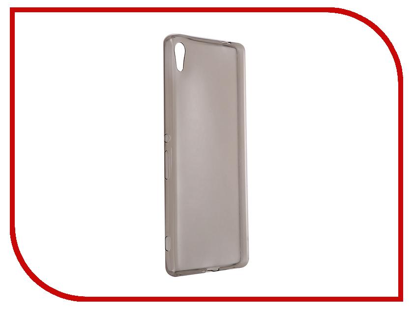 Аксессуар Чехол-накладка Sony Xperia XA Ultra Gecko силиконовый Transparent Grey S-G-SONXAU-BL стоимость