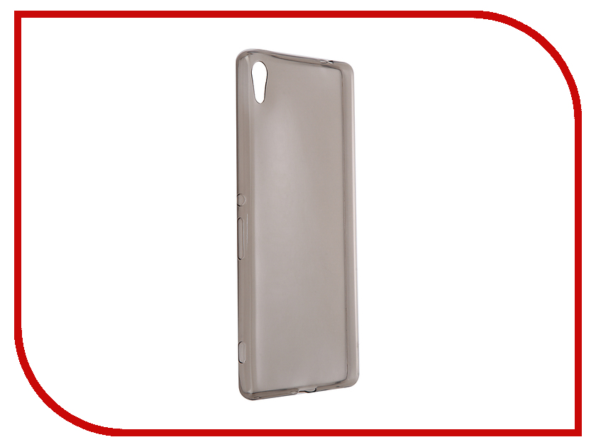 Аксессуар Чехол-накладка Sony Xperia XA Ultra Gecko силиконовый Transparent Grey S-G-SONXAU-BL<br>