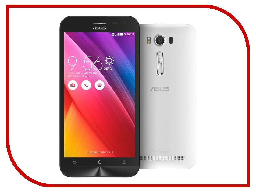 Сотовый телефон ASUS ZenFone 2 Laser ZE550KL 32Gb White сотовый телефон asus zenfone 2 laser ze500kl 32gb black