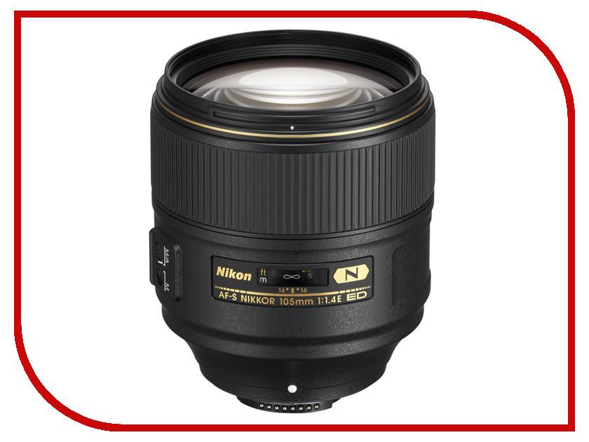 Объектив Nikon Nikkor AF-S 105 mm F/1.4E ED