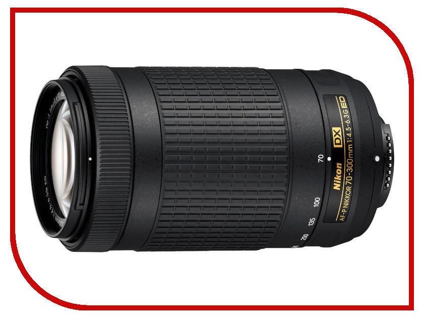 Объектив Nikon AF-P DX Nikkor 70-300 mm F/4.5-6.3G ED<br>