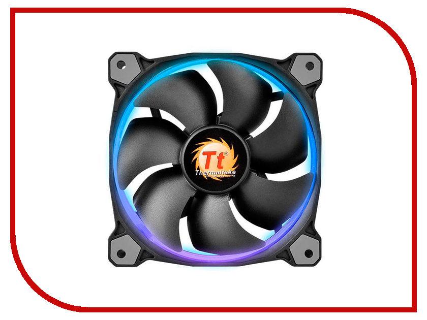 Вентилятор Thermaltake Riing 12 LED 120mm CL-F042-PL12SW-B цена и фото