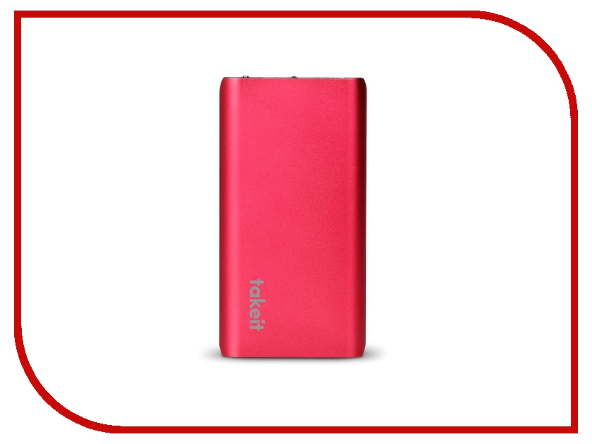 Аккумулятор Takeit Surface 5200 mAh TKTPBAS5200RED Red<br>