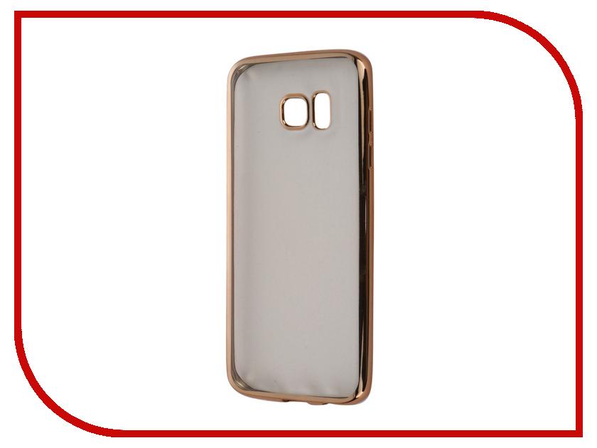 Аксессуар Чехол Samsung Galaxy S7 Edge Takeit Metal Slim Gold TKTSGGS7EMSGD<br>