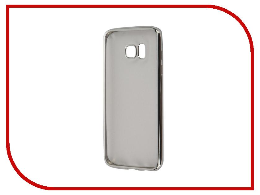 Аксессуар Чехол Samsung Galaxy S7 Edge Takeit Metal Slim Silver TKTSGGS7EMSSIL<br>