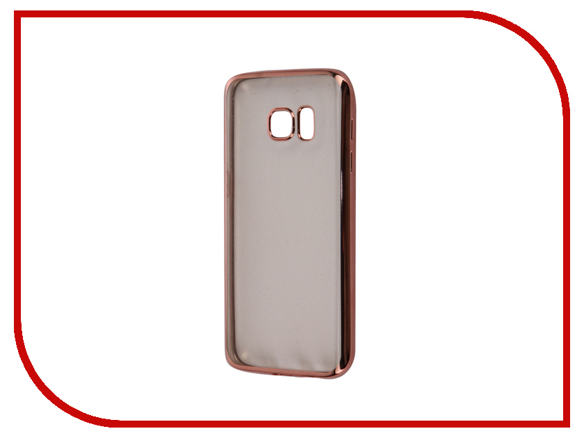 Аксессуар Чехол Samsung Galaxy S7 Takeit Metal Slim Pink Gold TKTSGGS7MSRGD<br>