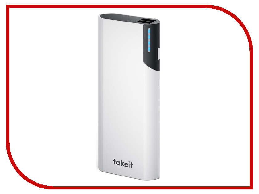 ����������� Takeit Rock 13000 mAh TKTBROCK13000WHI White