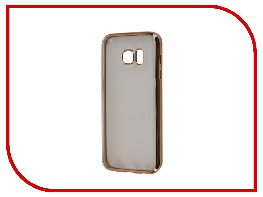 Аксессуар Чехол Samsung Galaxy S7 Takeit Metal Slim Gold TKTSGGS7MSGD<br>