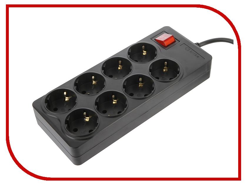 Сетевой фильтр 5bites Extra 8 Socket 1.8м Black SP8-B-18<br>