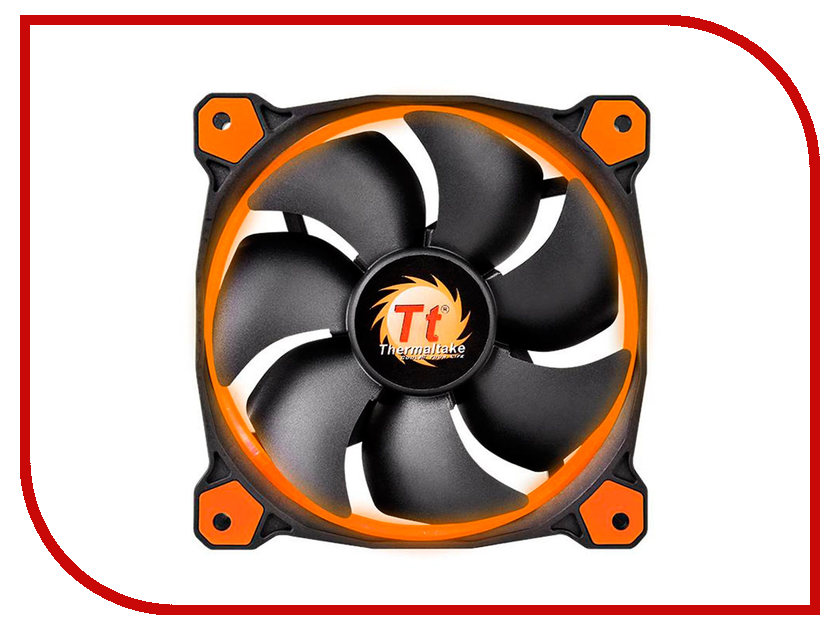 Вентилятор Thermaltake Riing 12 Orange CL-F038-PL12OR-A