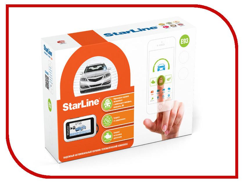Сигнализация StarLine E93 сигнализация starline a63