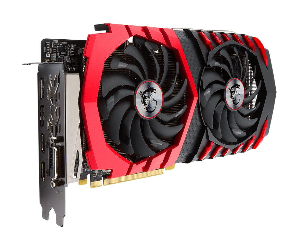 Видеокарта MSI Radeon RX 470 1254Mhz PCI-E 3.0 8192Mb 6700Mhz DVI 2xHDMI 2xHDCP RX 470 GAMING X 8G