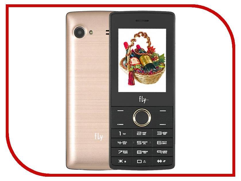 Сотовый телефон Fly FF244 Champagne<br>