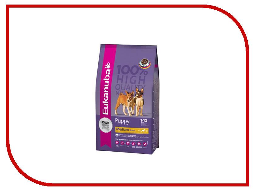 Корм Eukanuba Puppy 3kg для щенков 01084 / 2477