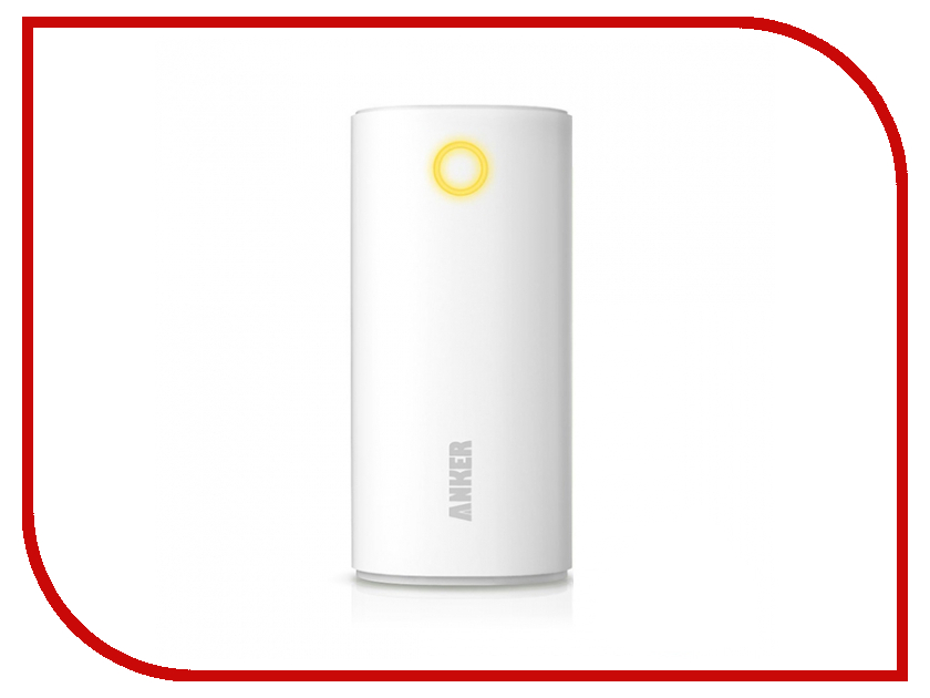 Аккумулятор Anker Astro 6700 mAh A1303H22 White