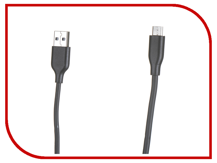 все цены на Аксессуар Anker Powerline+ USB - MicroUSB 0.9m Black-Grey онлайн
