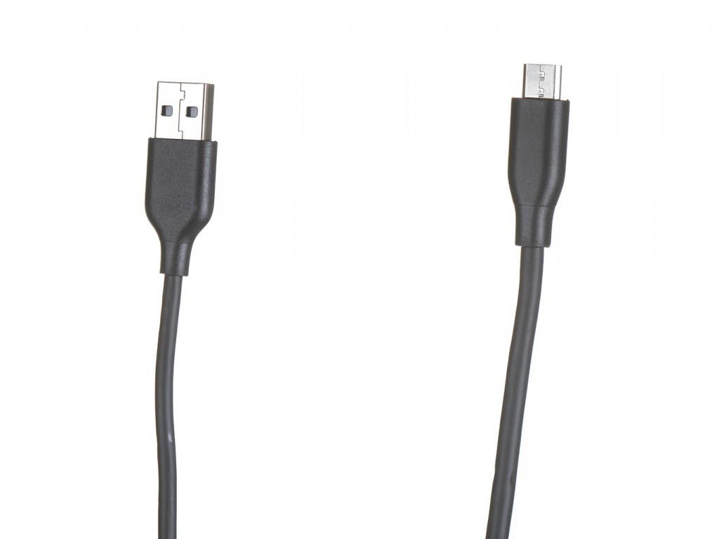 Аксессуар Anker Powerline+ USB - MicroUSB 0.9m Black-Grey