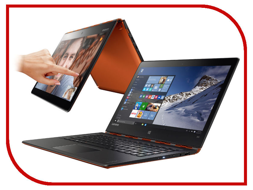Ноутбук Lenovo Yoga 900-13ISK2 80UE006MRK Intel Core i7-6560U 2.2 GHz/8192Mb/256Gb SSD/No ODD/Intel HD Graphics/Wi-Fi/Bluetooth/Cam/13.3/3200x1800/Windows 10 64-bit<br>