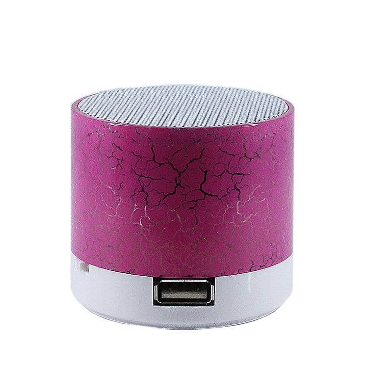 Колонка Activ S10 LED mini Pink 61034