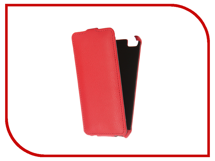 Аксессуар Чехол Xiaomi mi5 Zibelino Classico Red ZCL-XIA-MI5-RED<br>