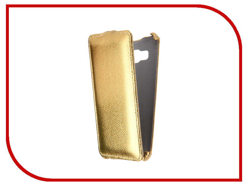 Аксессуар Чехол Samsung Galaxy J5 2016 Zibelino Classico Gold ZCL-SAM-J5-2016-GLD<br>