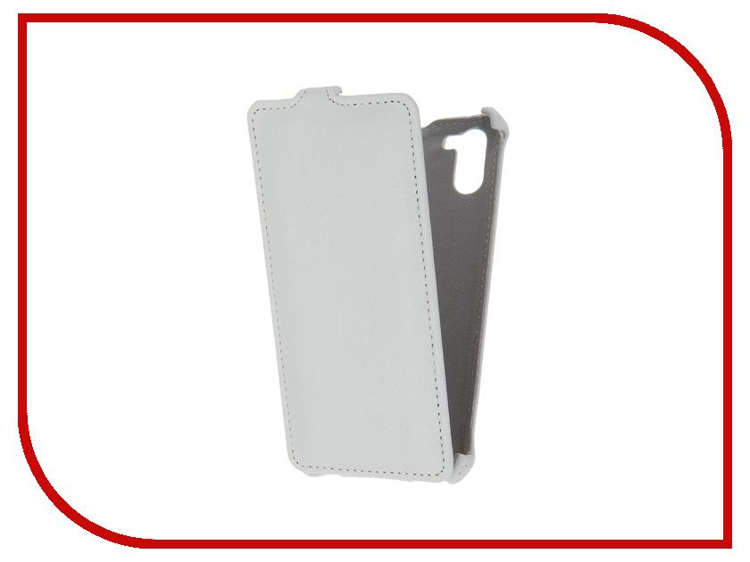 Аксессуар Чехол Ginzzu S5140 Zibelino Classico White ZCL-GNZ-S5140-WHT