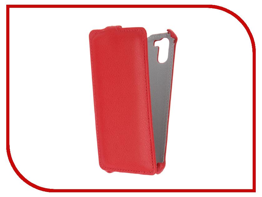 Аксессуар Чехол Ginzzu S5140 Zibelino Classico Red ZCL-GNZ-S5140-RED<br>