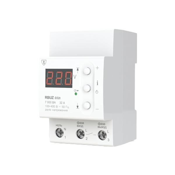 Реле контроля напряжения RBUZ / ZUBR D32t electric punch zubr zp 22 650 to
