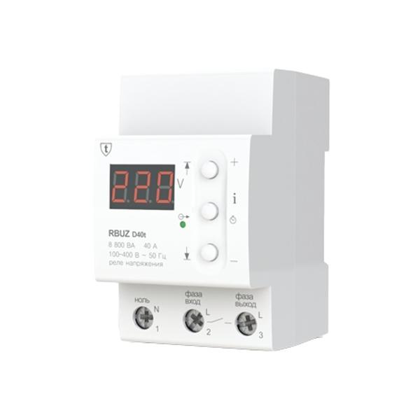 Реле контроля напряжения RBUZ / ZUBR D40t electric punch zubr zp 22 650 to