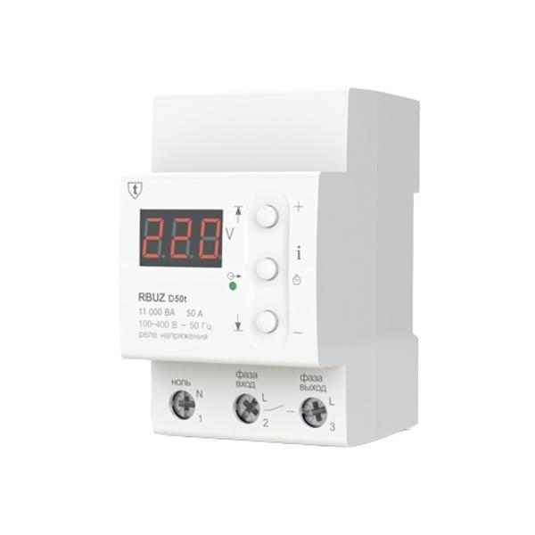 Реле контроля напряжения RBUZ / ZUBR D50t